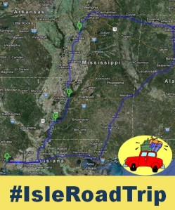 Map of the Isle Road Trip